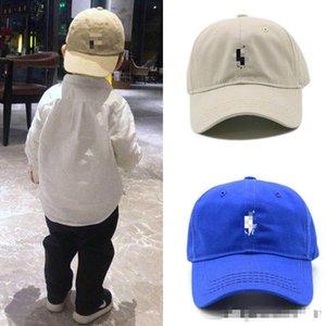 Kinder-Eltern-Kind-Kappe Marke Mannentwerfers Hüte Snapback Baseball-Kappen Luxus-Dame Hutsommer trucker casquette Frauen kausal justierbarekappe