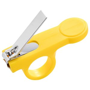 1 2 5PCS Safety Nail Clippers Scissors Cutter For Newborn Baby Convenient Daily Baby Nail Shell Shear Manicure Tool