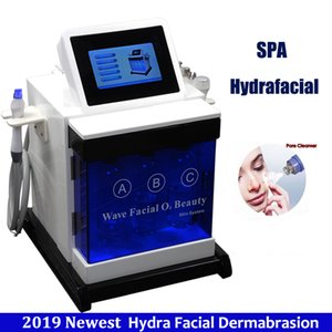 Hydra Dermabrasion Machine Water Hydrafacial Skin Cleaning Chemical Peeling Treatment 5 Hand Bio Microcorrente Microdermoabrasione