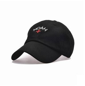 Atacado-europeu Moda US Marca Noah Cross Bordados Ball Caps Caps sólidos Adolescente Stakeboard clássico Vintage Unisex Vogue Esporte Chapéus