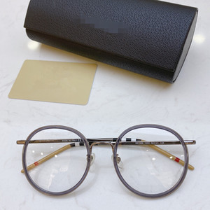 Reçete için 2020 YENİ BE1326 Kadınlar yuvarlak gözlük Çerçeve Metal + Önlük Jant 52-21-145mm fullset Ambalaj freeshpping Glasses