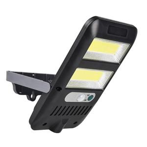 COB-LED helle im Freien Solar-Lampen-PIR Bewegungs-Sensor-Wandleuchte IP65 wasserdicht solarbetriebene Sonnenlicht Straße Gartenleuchten