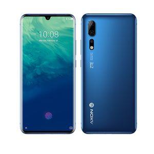 """ZTE original Axon 10 cellulaire Pro 4G LTE téléphone 12Go RAM 256Go ROM Snapdragon 855 Octa base 6,47"""" Plein écran 48.0MP ID d'empreintes digitales Téléphone mobile"""