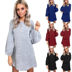 Cash 2019 moda autunno e inverno abbigliamento donna nuovo maglia maglione abito camicia fondo Discount Store nuovo negozio Juhui