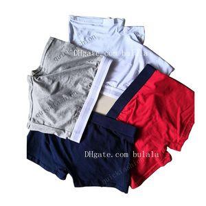 5 PC / porción Ropa interior para hombre diseñador boxer masculino caliente de la ropa interior de los hombres del boxeador de los hombres de los calzoncillos de hombre ropa interior cómoda y transpirable cuecas boxeador