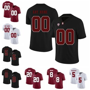 NCAA Stanford Cardinal Koleji Futbol Jersey Erkek Zach Ertz Jersey Doug Baldwin John Elway Ty Montgomery David DeCastro Özel Dikişli