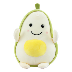 Toy giù il cotone bambola molle Grab regalo Bambola Macchina Carino Avocado del fumetto della peluche creativa del nuovo di modo