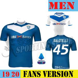 19 20 Brescia Calcio BALOTELLI 45 SOCCER JERSEYS HOME TONALI MAGNANI 20 donnarumma 9 AYE 21 Bisoli 25 ZMARHAL AWAY 2019 JERSEY SHIRT