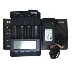 Carregador de bateria Opus original 4 slots Universal Carregadores de baterias de lítio para Sony VTC6 VTC5A Samsung 30Q 25R 18650 26650 20700 baterias