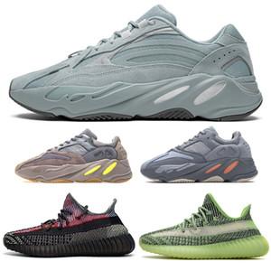 Top 700 Hospital V2 Bleu Kanye West coureur de vague Chaussure Terre Yecheil désert Sage Reflective Sneaker Vanta Nuage Blanc Citrin Noir statique Clay
