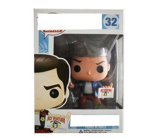 Funko POP Detective plane head 32# ACE VENTURA hand-made doll model doll PVC Model dolls Gifts toys