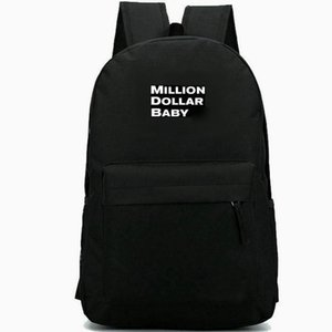 Million backpack Dollar baby daypack Rope Burns schoolbag Film leisure rucksack Sport school bag Outdoor day pack