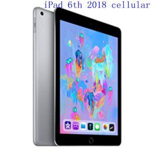 "Original Refurbished Apple iPad 2018 wifi+Celluar iPad 6th Touch ID 9.7"" Retina Display IOS A10 refurbished Tablet support Apple pencil"
