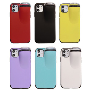 ZZYD 2in1 Case for iPhone 11 Pro Max Case Xs Max Xr X 10 8 7 Plus Case for AirPods Holder New Creative Cover