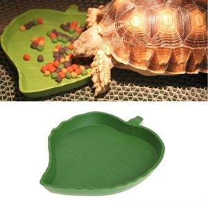 Dish novo réptil água bacia do alimento Plastic Gecko Meal Reptile Supplies Pet Supplies Worm Folha Feeder Forma 2 tamanho