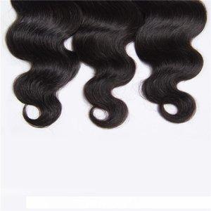 B Big Promotion !Cheap Brazilian Indian Peruvian Malaysian Virgin Hair 400g Natural Human Hair Weave Bundles Remy Body Wave 7a Hair Ext