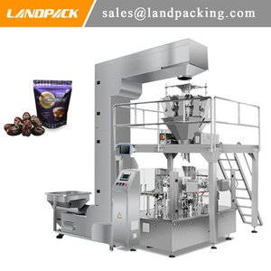 Multihead Linear Weigher Chocodate Premade Stand Pouch Fill And Seal Machine Quality Manufacturer