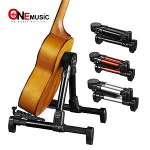Складная Складная подставка для инструментов с рамкой для гитары, баса, скрипки, укулеле, банджо, мандолины 1 шт.