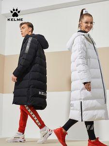 KELME Kid Теплая Зимняя куртка Женщины Мужчины Оригинальное Trainning Упражнение Long Раздел Winter Coat Спортивный костюм Хлопок 3991553
