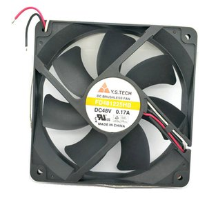 Y.S.TECH 12cm FD481225HB 12025 48v 0.17a 3wire Soğutma fanı MGT8012YR-W20