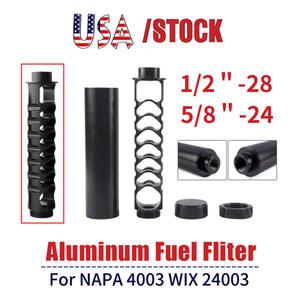 미국 주식 나선 1 / 2-28 5 / 8-24 NAPA을위한 6 인치 싱글 코어 자동차 연료 필터 (4003) WIX 24,003 매 RASTP OFI022