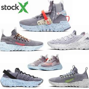 2020 Nuova rilasciato Spazio Hippie 01 02 03 04 uomini donne scarpe da corsa Le sneakers Trash grigio-blu-rosso migliore qualità CQ3989-001-002-0