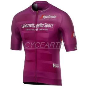Tour de ITALIE ITALIA 2020 Cyclisme Maillots d'été à manches courtes VTT Hauts cyclisme shirt Ropa Vêtements de course