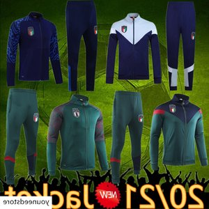 tracksuit 2020 Soccer jersey 19 20 italy Sportswear Verratti Jorginho Romagnoli italia Hooded football jacket