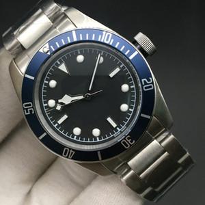 3 Styles HERITAGE BLACK BAY ROTOR MONTRES Uhr-Mann-M79230N Edelstahl-Armband-automatische mechanische Bewegung 2813 Armbanduhr 41mm