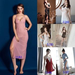 패션 섹시 베이비 돌 G 문자열 드레스 여성 속옷 레이스 란제리 끈 팬티 잠옷 HOT
