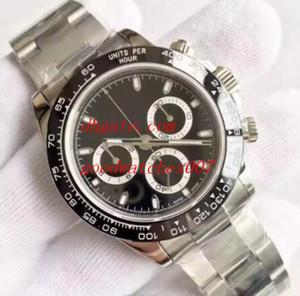 13 стиль высокое качество часы ВР коэф завода.7750 механизм 40 мм 116520 116500LN 116506 116503 сапфировое стекло хронограф автоматические мужские часы