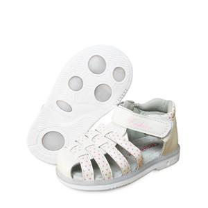 Yeni 1 pair Çocuk Kız Deri Ortopedik Ayakkabı, Çocuklar Moda Sandalet, yeni Tasarım Ayakkabı Q190601