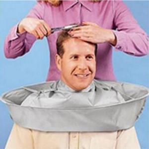 Strumenti di taglio di capelli pieghevole di taglio dei capelli Mantello Barbiere di nylon panno casa Salone di taglio dei capelli Taglio di copertura per adulti di taglio dei capelli Mantello DH0893 T03