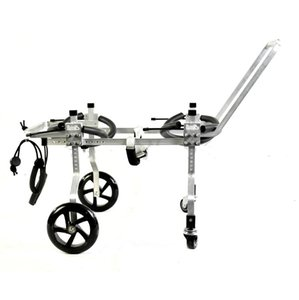 Dog Wheelchair Four Limbs Pet Scooter Small Wheel Disabled Car Body Wheeled Walking Stretcher