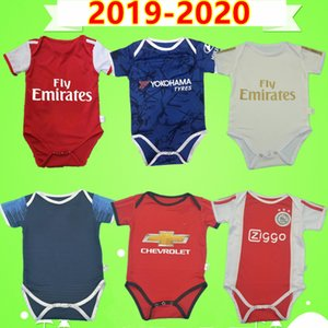 psg jersey 9-12 Ajax paris Real Madrid Mexique 2019 2020 kit bébé maillot football costume garçons Amérique du CA 6-18 enfants mois ensembles maillot de football Argentine