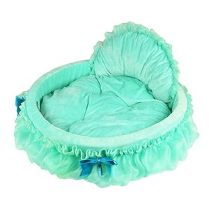 Kennels Korean Version Lace Medium High Rebound Sponge Durable Warm and Comfortable No Collapse Multi Color Options