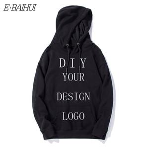 E-Baihui hoodies casuali Stampa Diy Custom Design Uomo Abbigliamento Donna Felpa con cappuccio hip hop di trasporto di goccia fai da te Felpa con cappuccio WT002