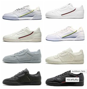 Designer Calabasas Powerphase Grey Continental 80 Kanye West Aero blue Core black OG white Mens Women Casual shoes