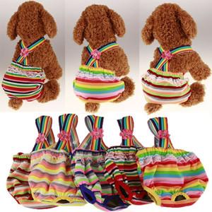 개 위생 기저귀 기저귀 애완 동물 생리 바지 속옷 짧은 바지 개 점프 슈트 장난 꾸러기 XS-XL