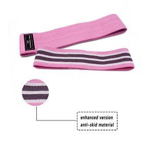 Multi Farben Ziehen Strap Non Toxic natürliche Latex-Widerstand-Bänder hohe elastische Kraft Belt Training Loop-Gym Yoga Workout Fitnness Strapes # 371