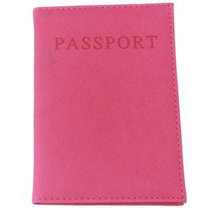 Оптово-HENGSONG Мода Искусственная кожа Путешествия Обложка для паспорта Обложка ID Card Bag Кошелек для паспорта Защитный рукав сумка для хранения RD838528