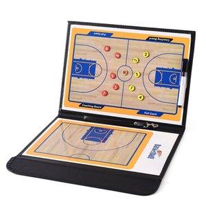 Allenatori professionisti di pallacanestro Coaching Consiglio Double-sided Appunti Dry Erase w marcatore / pallacanestro tattico bordo di trasporto