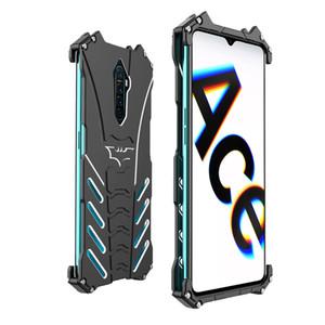 Cassa del telefono di alluminio di lusso di New Thor Heavy Duty armatura metallica Per OPPO reno3 anti caduta caso Pacchetto completo per oppo reno2 A9X reno zoom 10X R17
