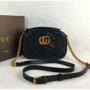 2020 New Classic sacs à bandoulière de mode de luxe en cuir femmes chaîne sac à bandoulière Sac Messenger Bag Casual sac a 2342 principal