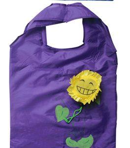 del progettista di trasporto-libero rosa solare shopping bag fiore sacchetto ambientale creativa tote bag pieghevole