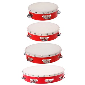 Tambourine Drum Hand Held Bell Percussion Tambourines Bells Jingles Musical Toy