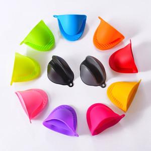 Luvas de Forno Luvas de Silicone Resistente Ao Calor Clips Forno de Cozimento Luvas Anti-slip Pot Clip Cozinha Luvas de Cozinha Cozinha HHA579