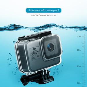 Kahraman 8 Eylem Kamera fotoğrafçılık aksesuarları ile uyumludur stüdyo fotoğraf Su geçirmez Konut Case Shell Sualtı 40m
