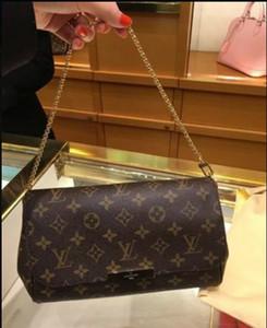 Son zamanlarda iyi ve çok popüler Satış (çekme için 6 tarzı) !!! Klasik stil bayanlar crossbody küçük omuz çantaları # 40718 kahverengi mektup