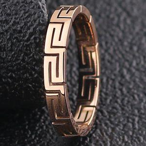 Nuevo tipo de acero de titanio de Europa y América en 2020, anillo de pared de gran altura, anillo de cola de acero inoxidable, moda y creativo